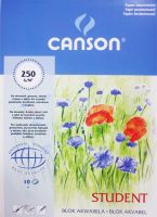 Blok Student Canson 250g  - A5 15x21cm