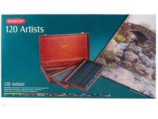 Kredki artystyczne Artists - 120 kolorów - op. drewniane