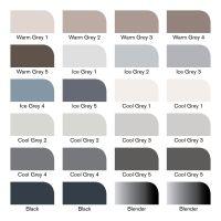 ProMarker 24szt w etui  - Black and Grey