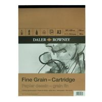 Blok Fine Grain - Cartridge 160g - A3 29,7x42cm