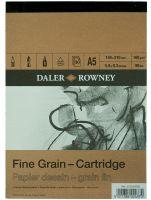 Blok Fine Grain - Cartridge 160g - A5 14,9x21cm