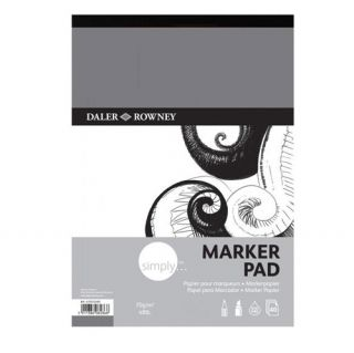 Blok Marker Simply 70g 40ark - A4 21x29,7cm