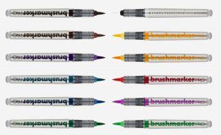 BrushmarkerPRO zestaw 12 sztuk - Basic Colours 11 + Blender