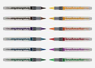 BrushmarkerPRO zestaw 12 sztuk - Basic Colours