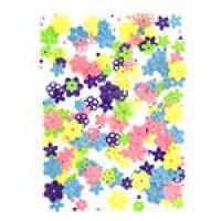 Cekiny wzory - kwiatki 20g