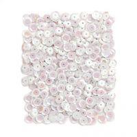 Cekiny okrągłe 9mm 15g - Opalizujące perłowe