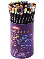 Kredki artystyczne Coloursoft  - 72 kolory - w kubku