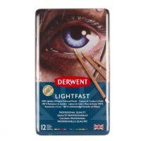 Kredki Lightfast - 12 kolorów