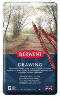Kredki artystyczne Drawing - 12 kolorów - op. metalowe