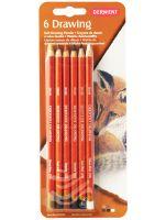 Kredki artystyczne Drawing - 6 kolorów - blister