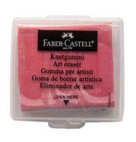Gumka chlebowa Faber Castell - czerwona