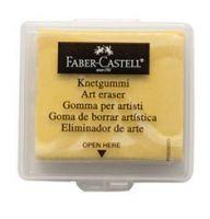 Gumka chlebowa Faber Castell - żółta