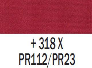 Gwasz Extra Fine Talens 50ml - 318 Karmin