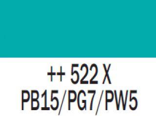 Gwasz Extra Fine Talens 50ml - 522 Niebieski turkusowy
