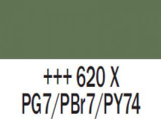 Gwasz Extra Fine Talens 50ml - 620 Zieleń oliwkowa