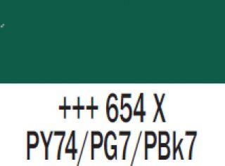 Gwasz Extra Fine Talens 50ml - 654 Zieleń sosny