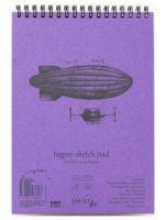 Blok SMLT Ingres 130g - A5 spirala - 25 ark