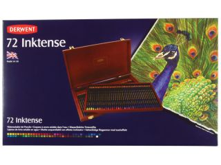 Kredki tuszowe Inktense - 72 kol. - op. drewniane