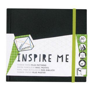 Blok Inspire Me - 14x14cm