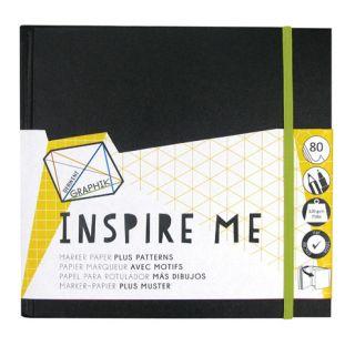 Blok Inspire Me - 20x20cm