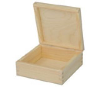 Kasetka drewniana  - 1077 - 12 x 12