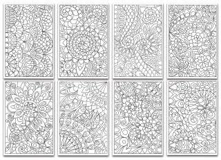 Chameleon Color Cards - Floral Patterns
