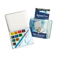 Komplet farb Aquafine - 10 kol. - Mini Travel Set