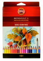 Kredki Mondeluz opakowanie tekturowe - 36 kolorów