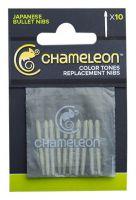 Końcówki wymienne Chameleon - 10 Bullet nibs