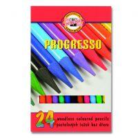 Kredki bezdrzewne Progresso  - 24 kolory - 8758