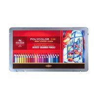 Kredki Polycolor opakowanie metalowe - polycolor -144 kol op.metalowe