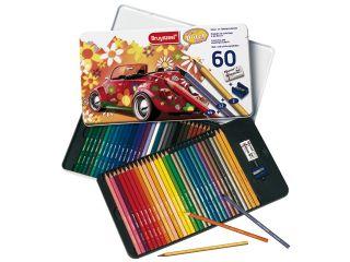 Kredki Bruynzeel specials - Super Sixties Beetle - 60 kolorów