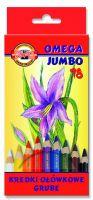 Kredki Omega Jumbo - 18 kolorów