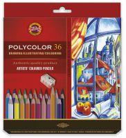 Kredki Polycolor opakowanie tekturowe - 3835 - 36 kolorów