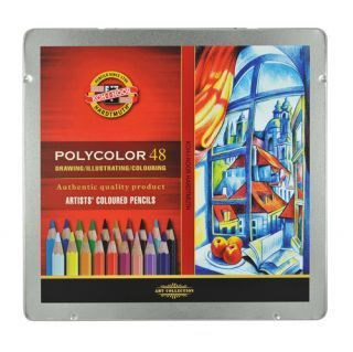 Kredki Polycolor opakowanie metalowe - 3726 - 48 kolorów