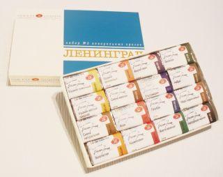 Farby akwarelowe Leningrad - 16 kolorów - op. kartonowe