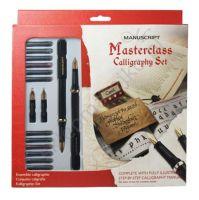 Komplet kaligraficzny Manuscript  - Masterclass, 2 pióra + 4 końcówki