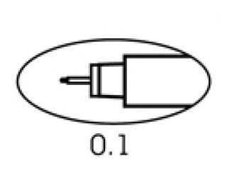 Cienkopis 4600 - 01