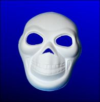 Maska papierowa - 15 - Małpa
