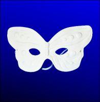 Maska papierowa - 17 - Motylek