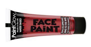 Farba do ciała Face Paint 13ml - Bright red