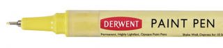 Cienkopis Derwent Paint Pen - 01 Lemon Yellow