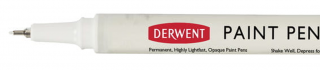 Cienkopis Derwent Paint Pen - 19 White