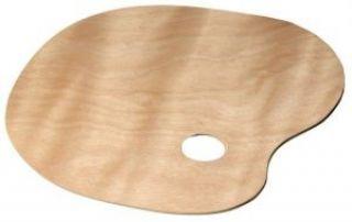 Paleta drewniana  - owalna, rybka 21 x 30 cm