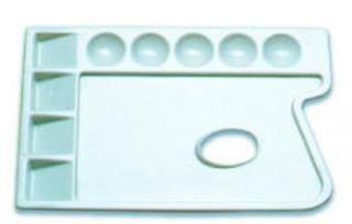 Paleta plastikowa  - 91080, prostokątna 23,5 x 16,5 cm