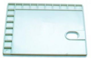 Paleta plastikowa  - 91081, prostokątna 28 x 21,5