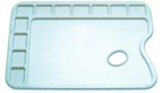 Paleta plastikowa  - 91082, prostokątna 34 x 23,5 cm