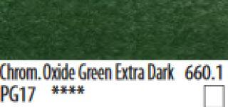 PanPastel, pastele artystyczne - 660.1 Chrom. Oxide Green Extra Dark, PanPastel