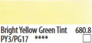 PanPastel, pastele artystyczne - 680.8 Bright Yellow Green Tint, PanPastell