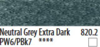 PanPastel, pastele artystyczne - 820.2 Neutral Grey Extra Dark, PanPastel